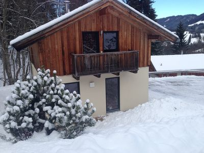 Photo for Charming chalet with direct access to the slopes