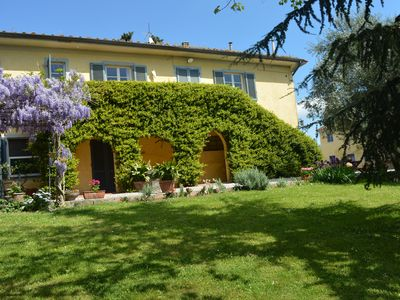 Photo for Apartment with exclusive relaxation area, surrounded by a wonderful park of an ancient Villa