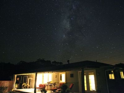 Watch billions of stars from the back yard.