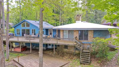 Photo for Wonderful 5 Bedroom Lakefront home with outdoor hot tub & private dock!