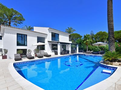 Photo for Holiday villa with private swimming pool in Nueva Andalucia to rent