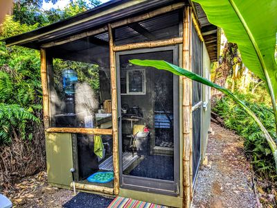 Photo for River View Rainforest Tiny Cabin with Kitchenette (No Cleaning Fee)