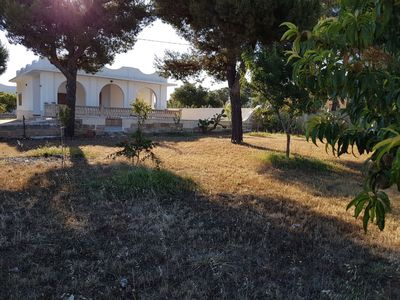 Photo for Holiday house with garden and large terrace, 900 meters from the Ionian sea
