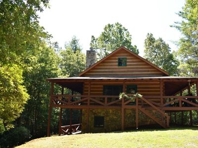 Photo for 3BR/3BA, Aska Adventure Area, Mountain View, Fire-Pit, Hot Tub, Pet Friendly (small dogs only), Gas