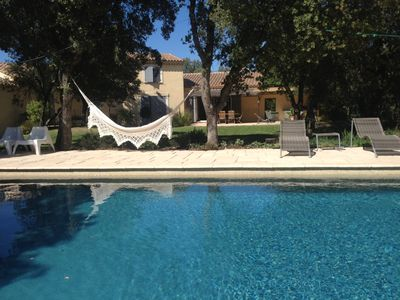 Photo for BETWEEN LUBERON AND VENTOUX, HOME 250 M ² 8 PERS. GDE SWIMMING POOL AND 2500m² GARDEN