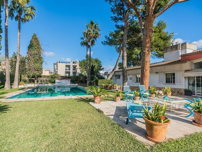 Photo for This 6-bedroom villa for up to 12 guests is located in Puerto Pollensa and has a private swimming po