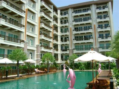 Photo for Luxury apartment with mountain and city view in Patong