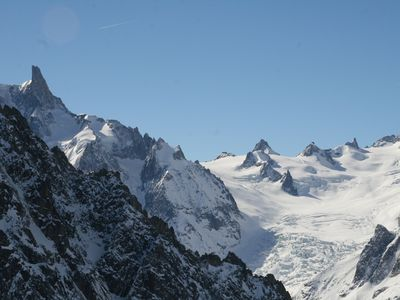 Photo for Chamonix superb studio 2/3 ps OU4 private residence poximite city and reassembled