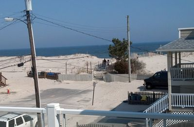 Ocean Views From Front Deck.  Great to be so close!