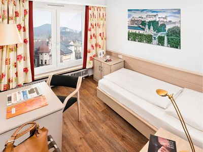 Photo for Single room, breakfast - Hotel IMLAUER & Bräu
