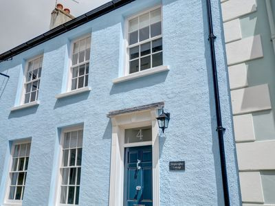 Photo for Shipwrights Cottage is a stunning house situated in the delightful town of Tenby with the shops, res