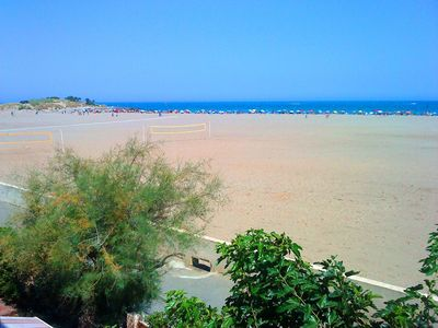 Photo for Large T4 at 15 meters from the beach - Panoramic sea views