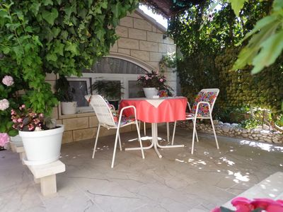 Photo for One bedroom apartment with terrace Bol, Brač (A-14493-a)
