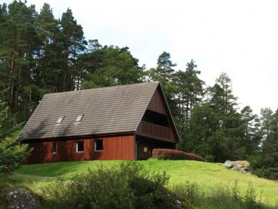Photo for Sensational 5 star 3 bedroom Highland chalet with sauna, spa bath and wood burning stove