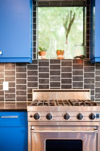 Viking range and appliances throughout the house are yours to use.