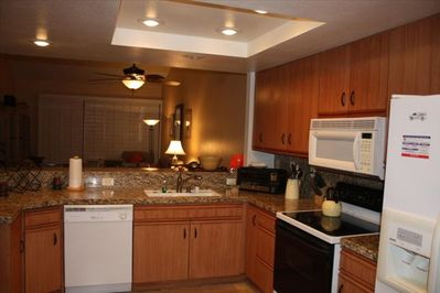 Kitchen with appliances, included Keurig Coffee Maker