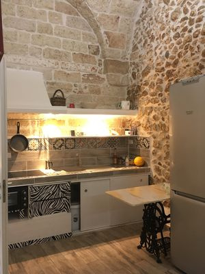 Photo for Casa Damian - Cool old town apartment in the heart of Carovigno