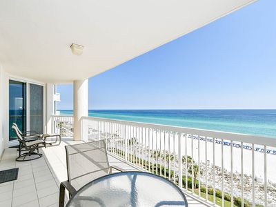 Photo for Spacious, open concept beachfront condo w/private balcony!