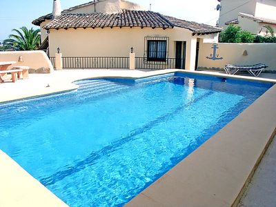 Photo for Vacation home La Golondrina  in Moraira, Costa Blanca - 4 persons, 2 bedrooms