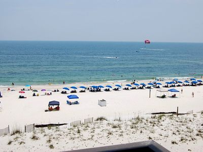 Photo for Island Sunrise 568: Great sideview from this beachside condo. pool, walk to town