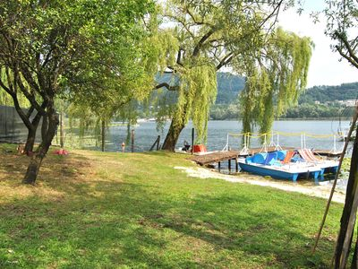 Photo for villa 10 people, on the lake, prosecco area, Venice and Dolomites, private beach