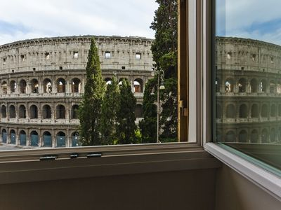 Photo for Apartment with Incredible Views of Colosseum and Exclusive !!