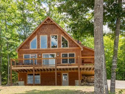 Photo for Hot Tub and Great Views! Beautiful 4 Bedroom, 3 Bathroom Chalet
