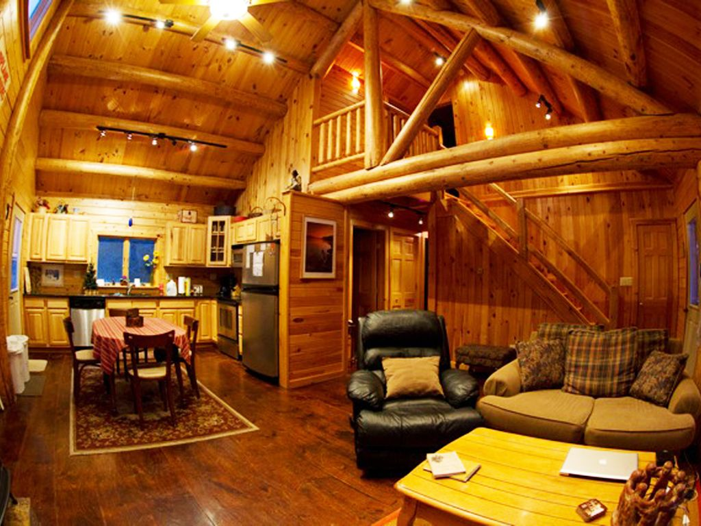Adirondack Log Home For Rent Near Lake Placid NY In State Park