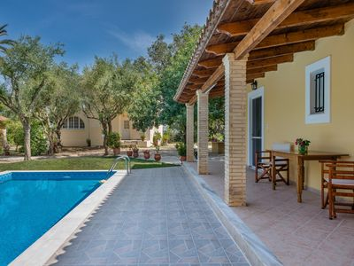 Photo for Villa Kardaris, an elegant 3 bedroom villa in Zakynthos