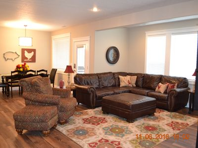 Photo for New All One Level Basement Unit Large Great Room Kitchen 3 bed 2 baths