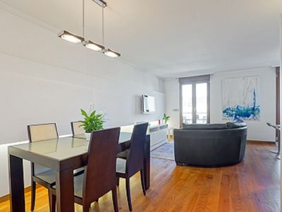Photo for City Center. Renewed. Amazing views from terrace. Parking included. Great price!!
