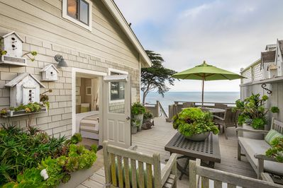 Your  wrap around private deck with ocean views
