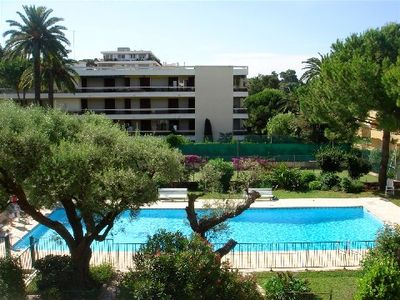 Photo for PAVOIS - Quiet 2 rooms in a standing residence - Swimming Pool - Tennis - Parking