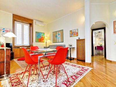 Photo for A  quiet flat near the Vatican, in a well-appointed area!