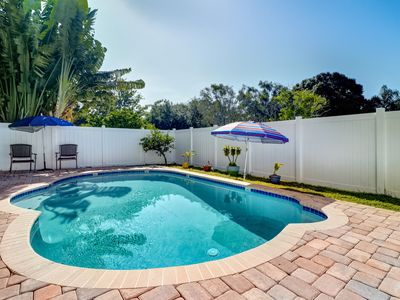 Photo for Spacious 4BR w/ Resort-Style Backyard: Private Pool & Alfresco Dining