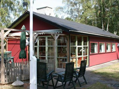 Photo for Spacious Holiday Home in Aakirkeby with Terrace