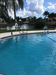Photo for Beautiful Waterfront Condo with Gulf Access. Location location location !!
