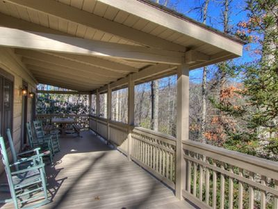 Photo for Log Cabin, Hot Tub, Wifi, Minutes to ASU, Mast Store, Grandfather Mountain...