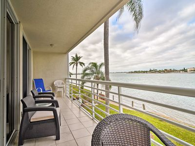 Photo for NEW! St Petersburg Condo w/Pool & Oceanfront Views