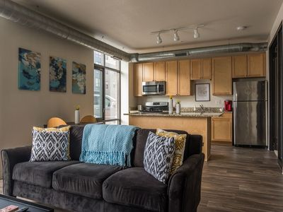 Photo for Simple 1BR Apt near Downtown