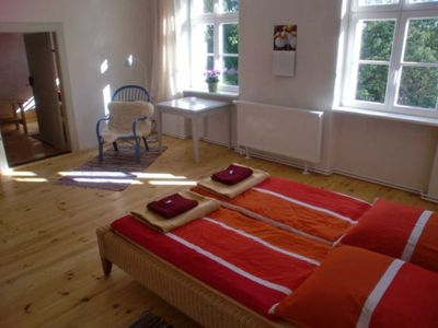 "Photo for Double room + 2 single beds Nr. 5 - Pension ""Pasterhof Eichhorst"""