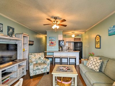 Photo for Chic Oceanfront North Topsail Beach Condo w/Deck!