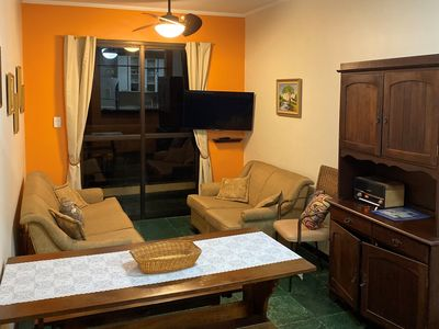Photo for Apartment in Praia Grande 100 m from the beach
