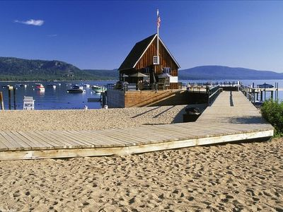 Photo for Lake Tahoe - Chambers Private Beach, Pool & Tennis Membership