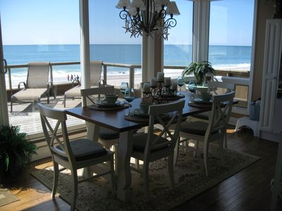 Photo for SPECTACULAR OCEANFRONT!  5 BEDROOMS.  MONDAY - SUNDAY FULL WEEK RENTALS ONLY.