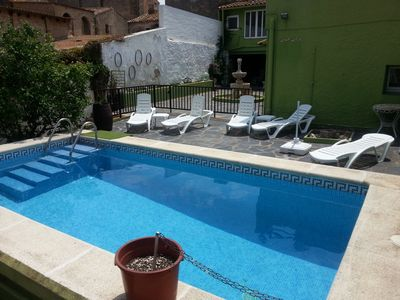 Photo for Superb village house, fully restored with pool and large garden.