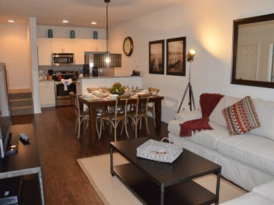 Photo for Modern Bargains - Lucaya Village - Beautiful Contemporary 3 Beds 2 Baths Townhome - 3 Miles To Disney