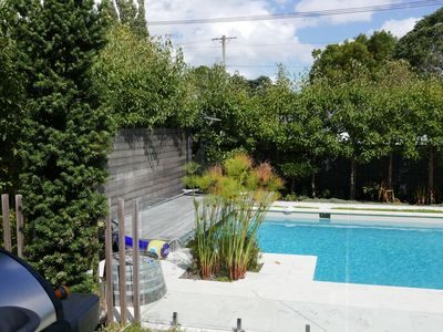 Photo for Summer paradise - family home sleeps 6 - great pool and full section