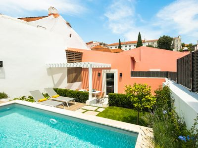 Photo for By the Castle   LUXURIOUS, PRIVATE GARDEN & POOL