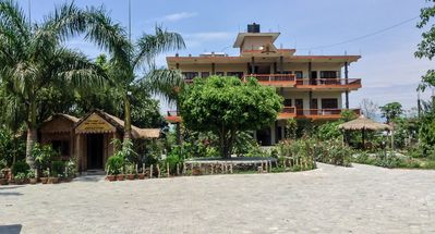 Photo for Eden jungle resort is one of the finest jungle resort in chitwan with garden.